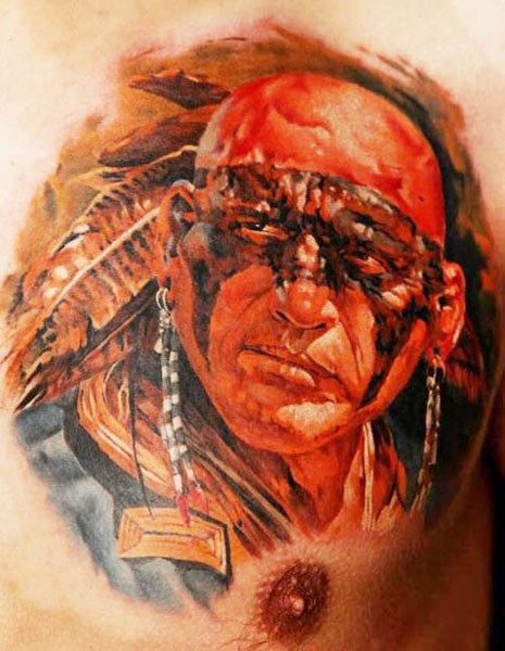 Top native american warriors images for pinterest tattoos for Native american warrior tattoos